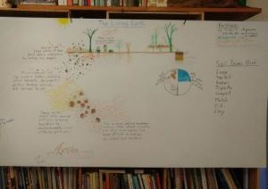 The Living Earth lesson board